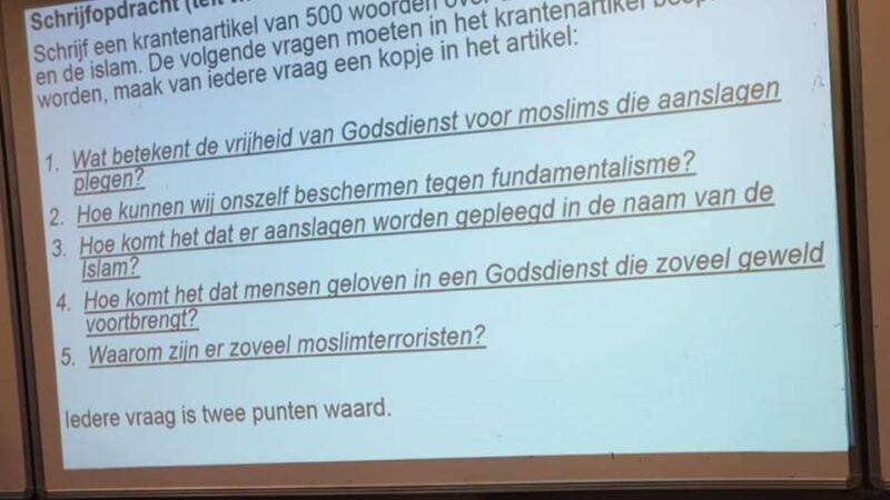 Framing in het klaslokaal